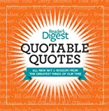 Quotable Quotes, Reader's Digest Editors, 162145004X