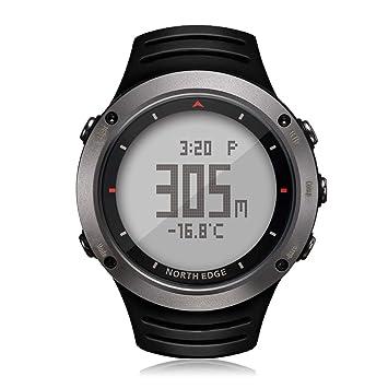 ZUEN Reloj Inteligente Bluetooth podómetro calorías cámara remota Digital Relojes de Pulsera de Moda Deporte SmartWatch, Hombre Deporte Reloj Digital ...