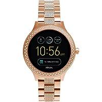 Fossil Q Women's Gen 3 Venture Stainless Steel Smartwatch, Color: Rose Gold (Model: FTW6008)