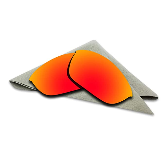 7bb5f06a2b Image Unavailable. Image not available for. Color  Polarized Lenses  Replacement for Oakley Half Jacket 2.0 Fire Red Mirrored