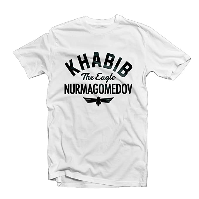 54478f48 Khabib Nurmagomedov Mens T Shirt 1556 - the Eagle Ufc Mma Gym Cage Fighting  Octagon: Amazon.ca: Clothing & Accessories