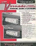 1961 1962 Dodge Dart & Lancer Vornado Air Conditioner