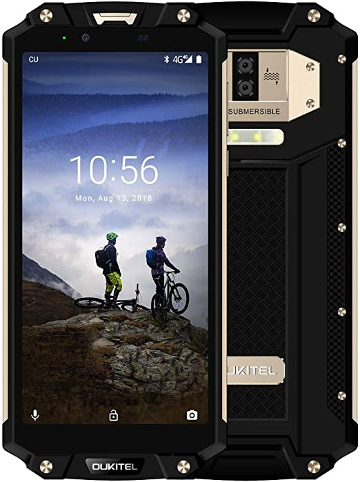 OUKITEL WP2-6.0 Inch FHD Military Standard Smartphone 10000mAh ...