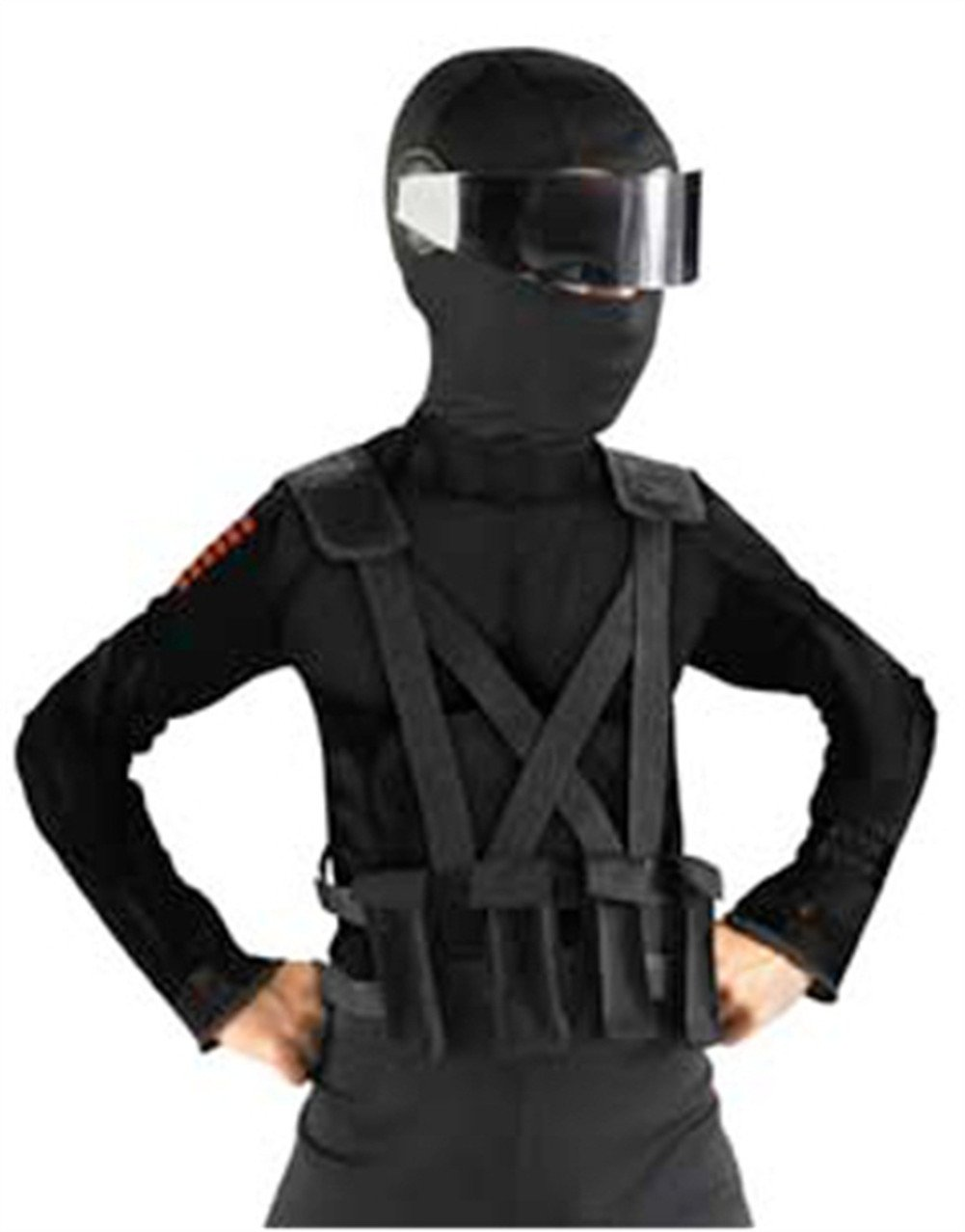 Snake Eyes Combat Vest & Holster Child Costume Accessory Set - One Size