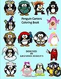 Penguin Careers Coloring Book