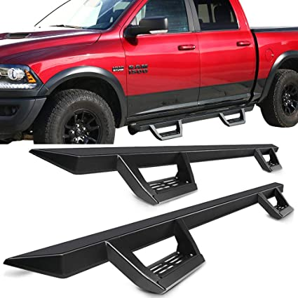2015 Dodge Truck >> Amazon Com Running Boards Fits 2009 2015 Dodge Ram 1500