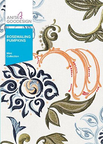 Anita Goodesign Embroidery Machine Designs CD Rosemaling - Rosemaling Design