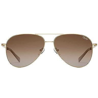 037071125b Amazon.com  Quay Australia Still Standing Sunglasses (Gold