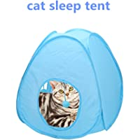 Pet Foldable Cube Pop up Tent Indoor Home Collapsible Interactive Toy Camping Outdoor Travel Exercise Playing for Small Cats Dog Rabbit Puppy Hamster