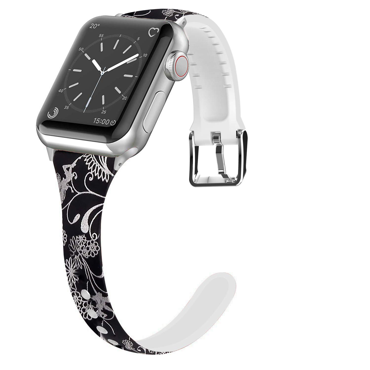 Malla Silicona para Apple Watch (38/40mm) LWSENGME [HR8NS5D]