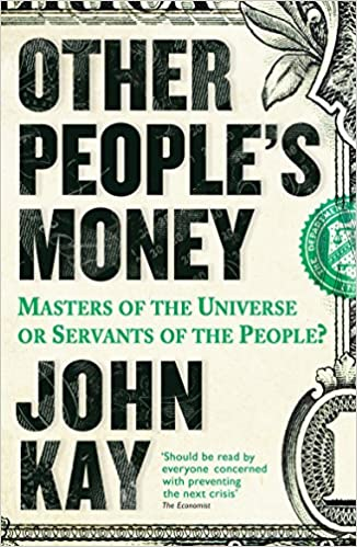 amazon other people s money masters of the universe or servants