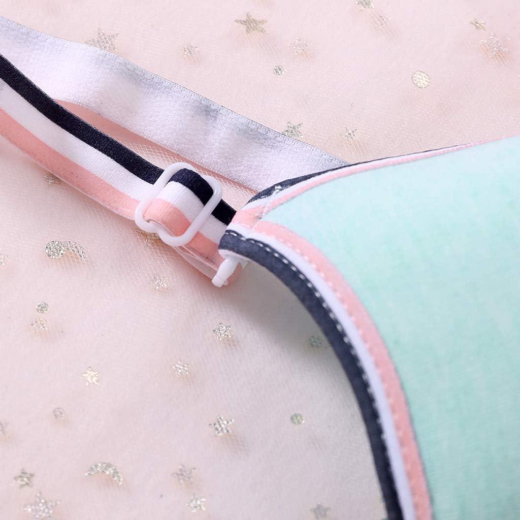 Young Girls Wireless Padded Bra Teenage Sport Underwear 12-18Y Small Lingerie VIccoo GirlS Bra Gray