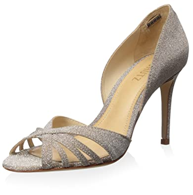ab7006e77e0 Amazon.com  SCHUTZ Women s Open Toe Strappy Evening Pump