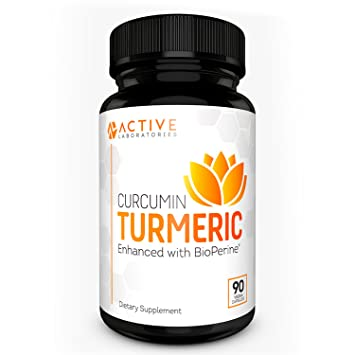 Active Laboratories Turmeric Bioperine - High Absorption Anti-Inflammatory Formula - Plus Joint Support -
