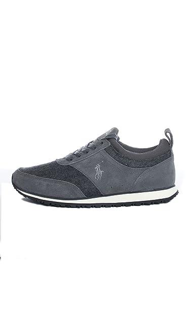 Polo Ralph Lauren - Zapatillas para Hombre Gris Gris Gris Size: 40 ...