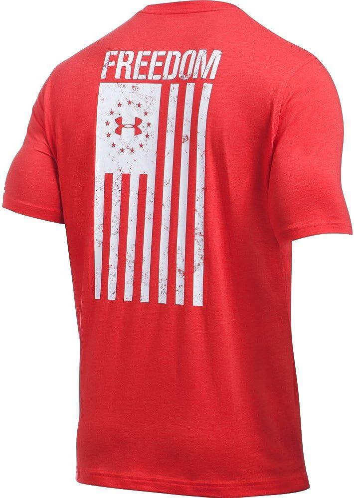 Under Armour Mens Freedom Flag T-Shirt
