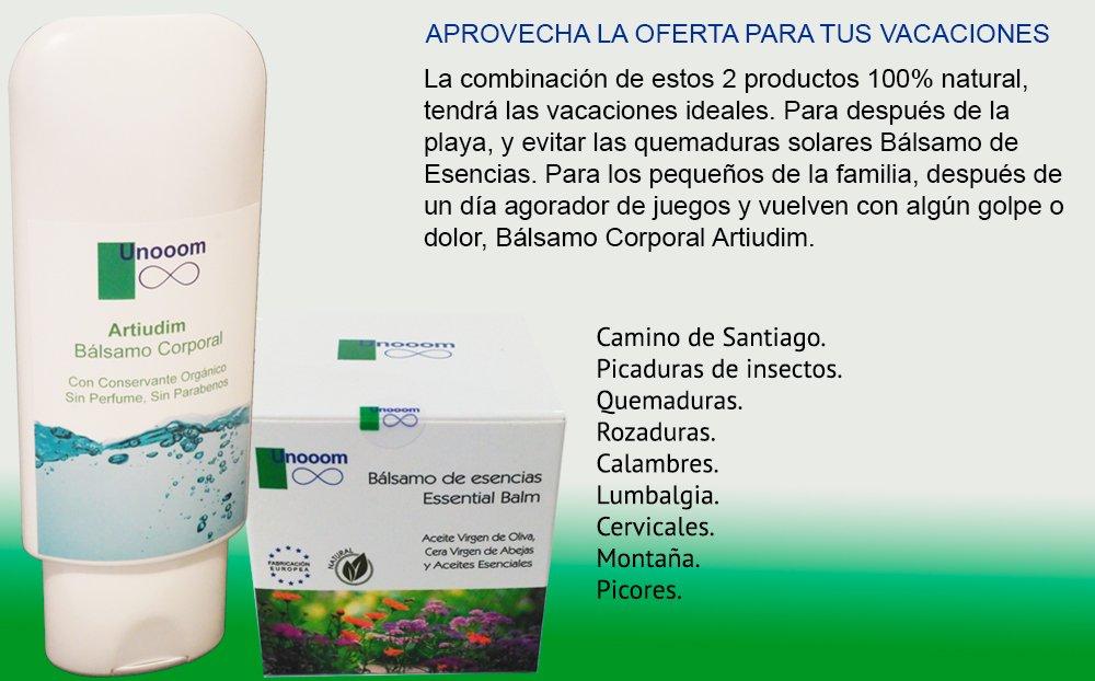 Bálsamo de Esencias + Bálsamo Corporal Artiudim: Amazon.es: Salud y cuidado personal
