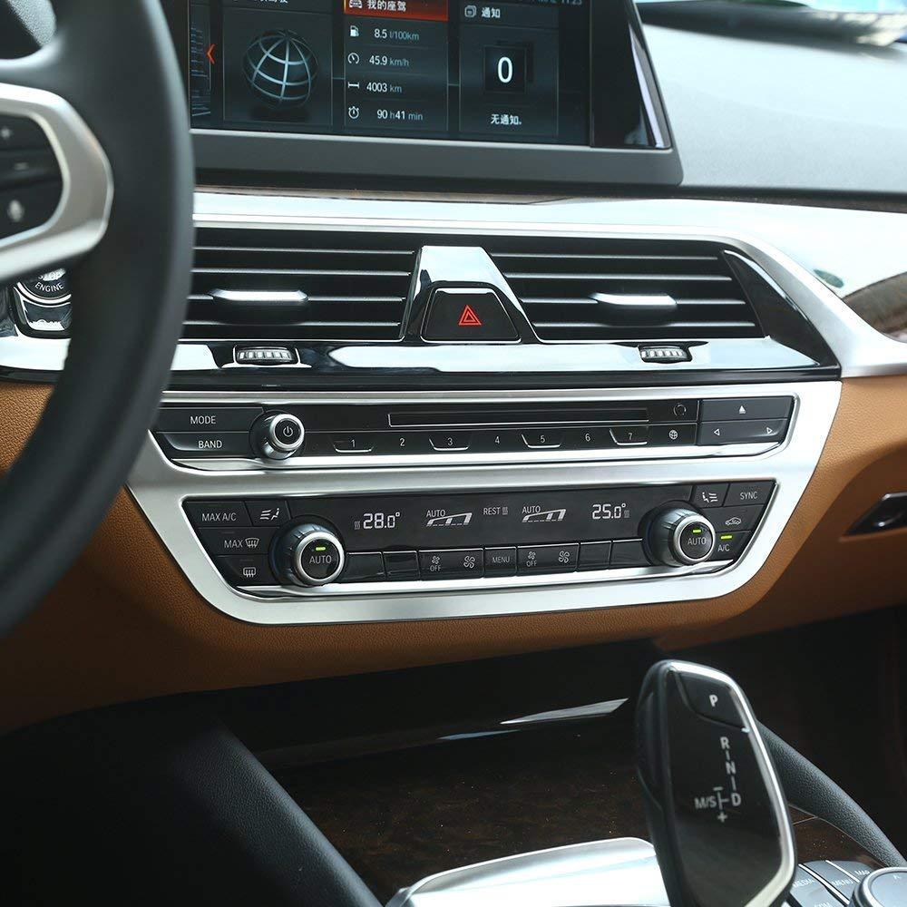 Decorazione per telaio centrale in ABS 1 pezzo per 5 serie G30 2017 2018 accessori per auto