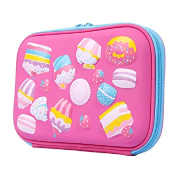 Occitop Sweet Ice Cream Cake Kids - Estuche escolar de gran ...