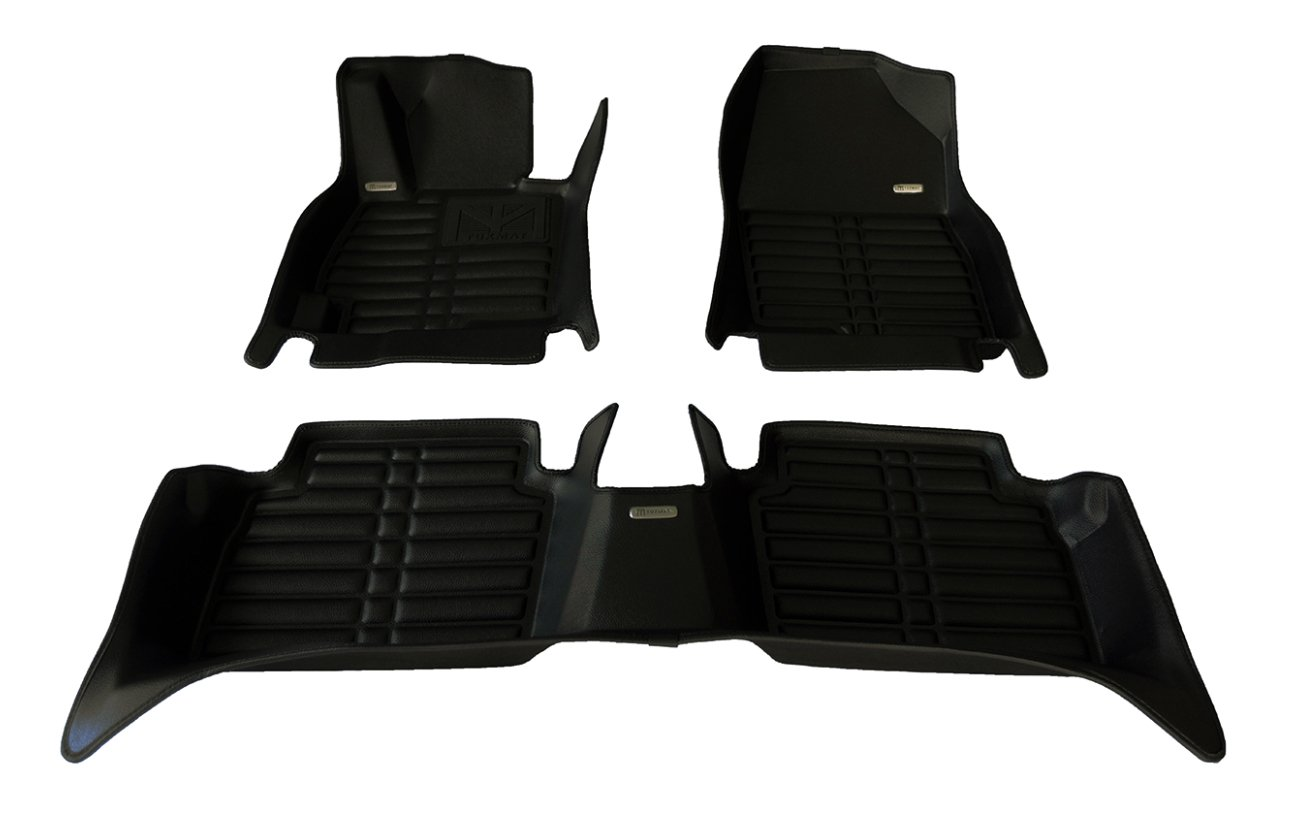Waterproof Largest Coverage Also Look Great in the Summer./The Best/Nissan Pathfinder Accessory. All Weather TuxMat Custom Car Floor Mats for Nissan Pathfinder 2013-2020 Models/- Laser Measured Black The Ultimate Winter Mats