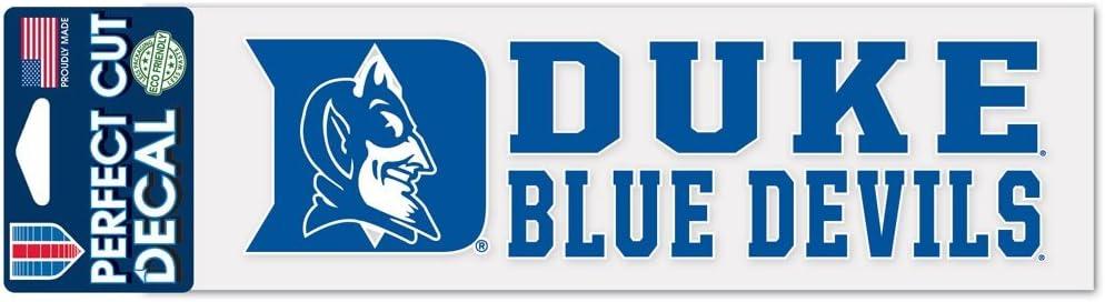 """WinCraft Duke Blue Devils Perfect Cut 3""""x10"""" Decal"""