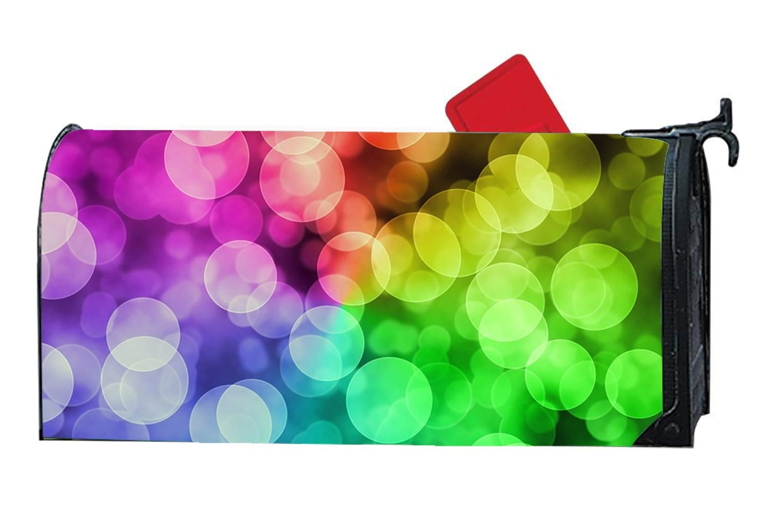 MALBX Colorful Light Magnetic Makeover Mailbox Cover Wrap by MALBX