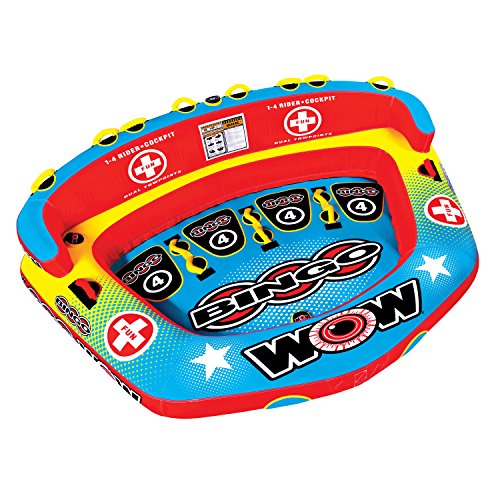 WOW Bingo 4 Rider Towable by WOW