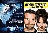 Winter's Bone + Silver Linings Playbook 2 Pack Drama Thriller Movie Jennifer Lawrence Blu Ray Set