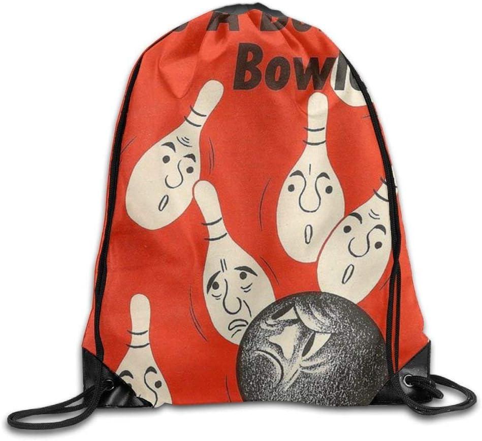 Drawstring Gym Sport Bag Bowling Sport Fashionable Travel Bag For Unisex Canvas Bag Drawstring