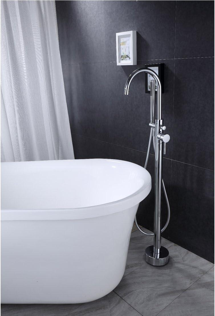 Grifo monomando sobre SUELO bañera/ducha DEBRIO para bañera exenta ...