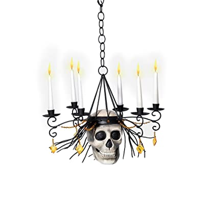 separation shoes 81c04 98ae1 Amazon.com: Department 56 Halloween Skull Chandelier: Home ...