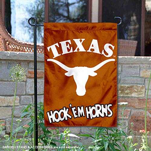 (College Flags and Banners Co. Texas Longhorns Hook'em Horns Garden)
