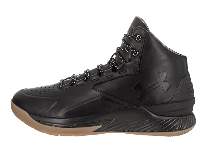 5a819010 Amazon.com | Under Armour Curry 1 Lux Mid Leather | Shoes