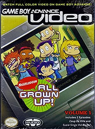 Amazon com: GBA Video All Grown Up! Vol  1: Video Games
