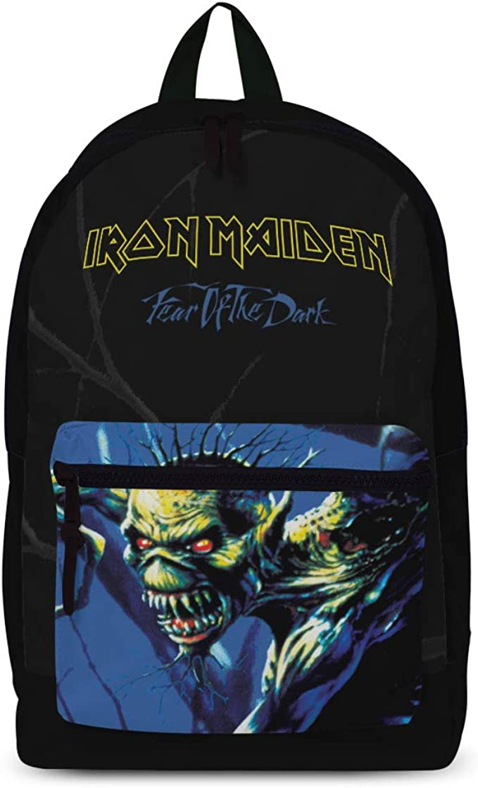 "IRON MAIDEN /""BOOK OF SOULS/"" /""Rocksax/"" Backpack Rucksack Bag Logo New"