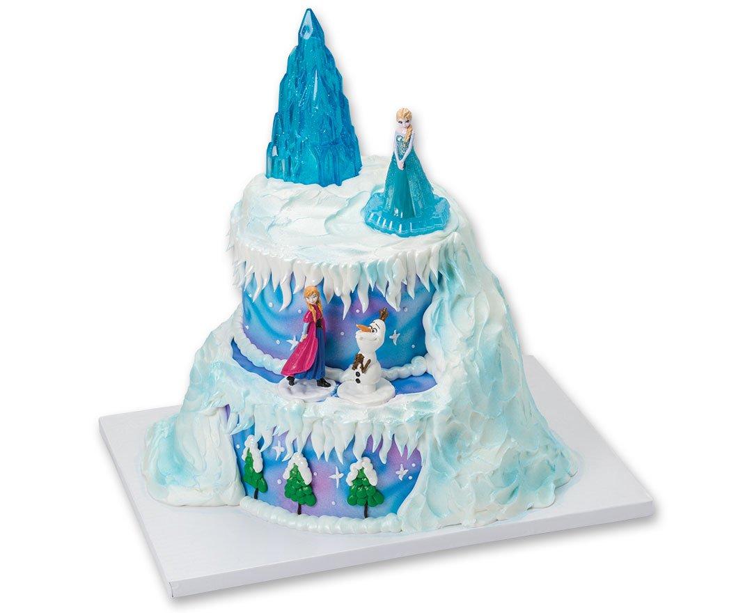 Amazon Decopac Frozen Winter Magic Signature Cake Topper Set