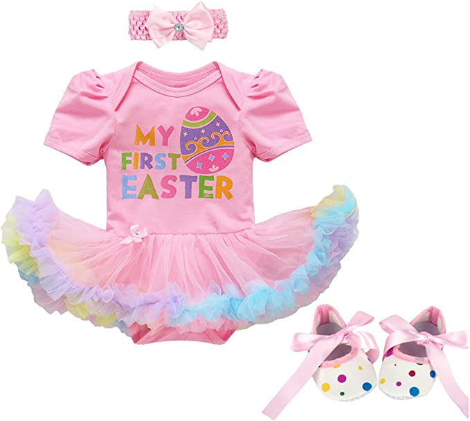 Easter egg chicks Girls Ruffle Tutu leg Warmers Perfect for babys 6M /& up approx 6 long