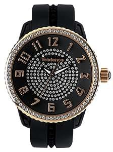 Tendence 02093008 - Reloj Unisex movimiento de cuarzo con correa de policarbonato
