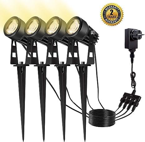 B-right Lampe de Jardin LED Eclairage Exterieur LED ...