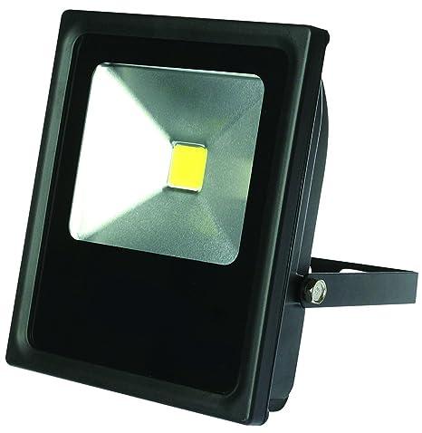Sampa Helios 432025 N proyector LED 20 W, metal negro: Amazon.es ...