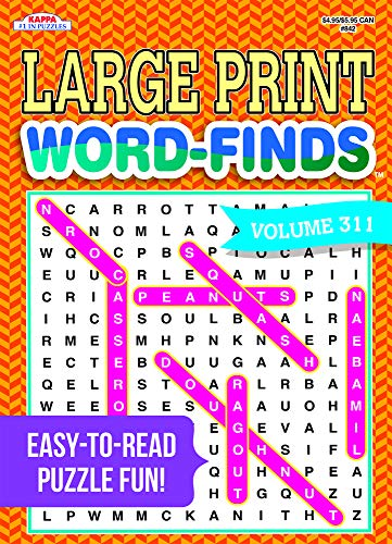 Large Print Word-Finds Puzzle Book-Word Search Volume 311 Perfect Paperback – May 18, 2020