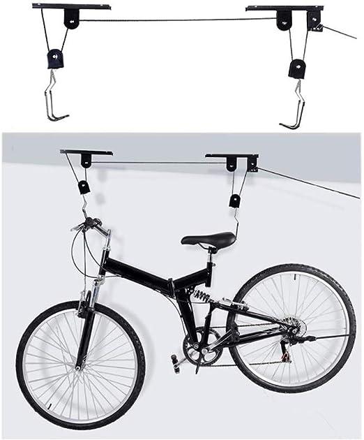 Elevador de bicicleta - Elevador de polea montado en el techo ...