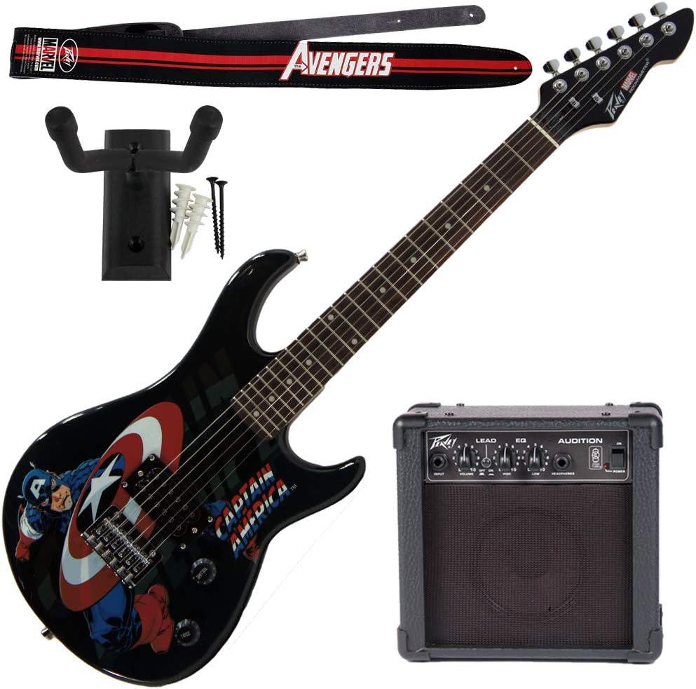 Peavey Marvel Capitán América Guitarra con 4