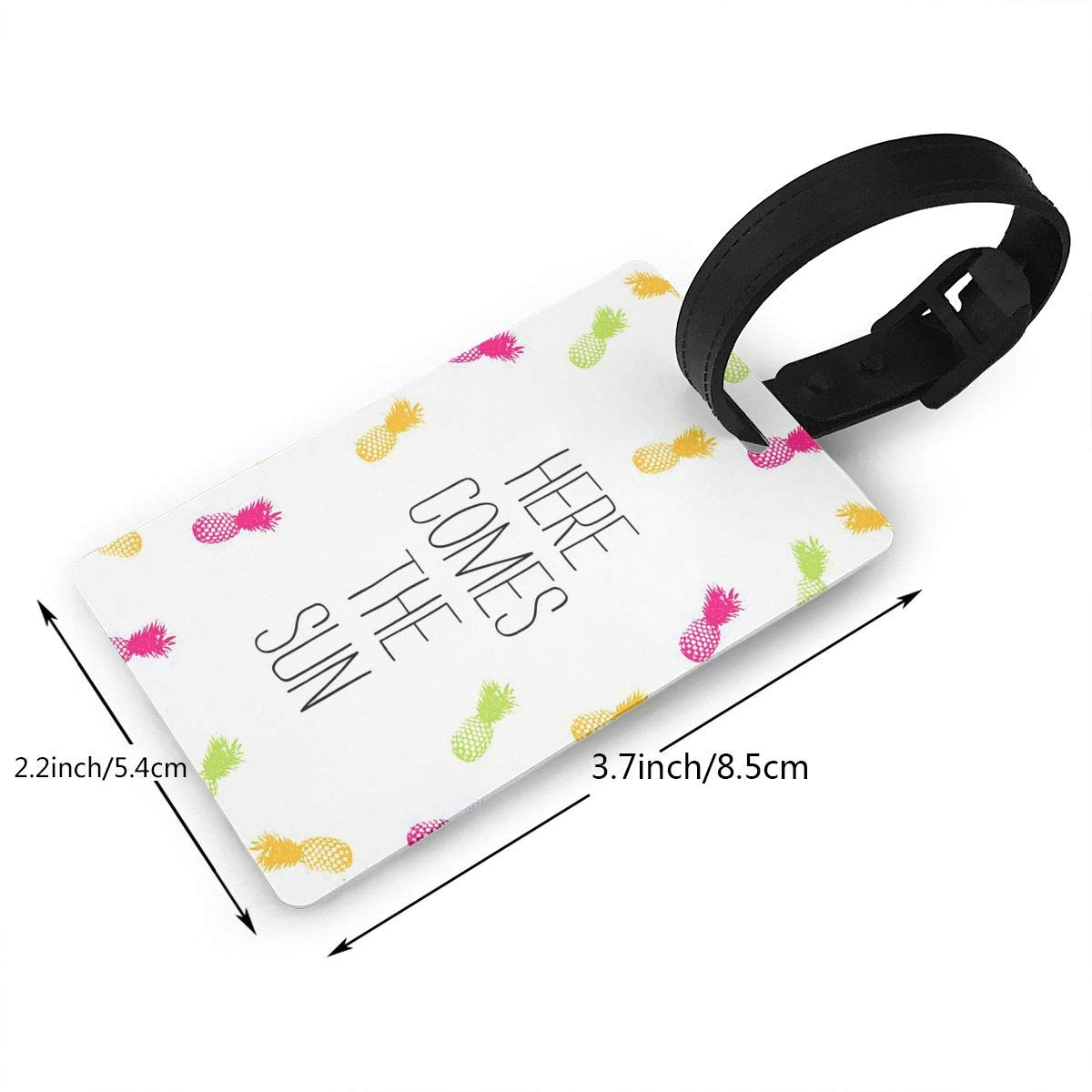 Pineapple Travel Tags For Travel Tags Accessories 2 Pack Luggage Tags