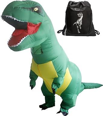 Amazon.com: luckysun adulto inflable T-Rex Dinosaurio ...