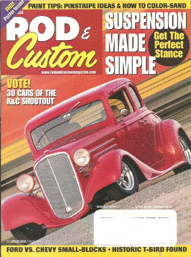 Rod & Custom August 2001 - Pics Ford Tom