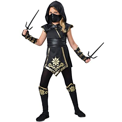 Fun World InCharacter Costumes Ninja's Mystique Costume, One Color, Size 12: Toys & Games