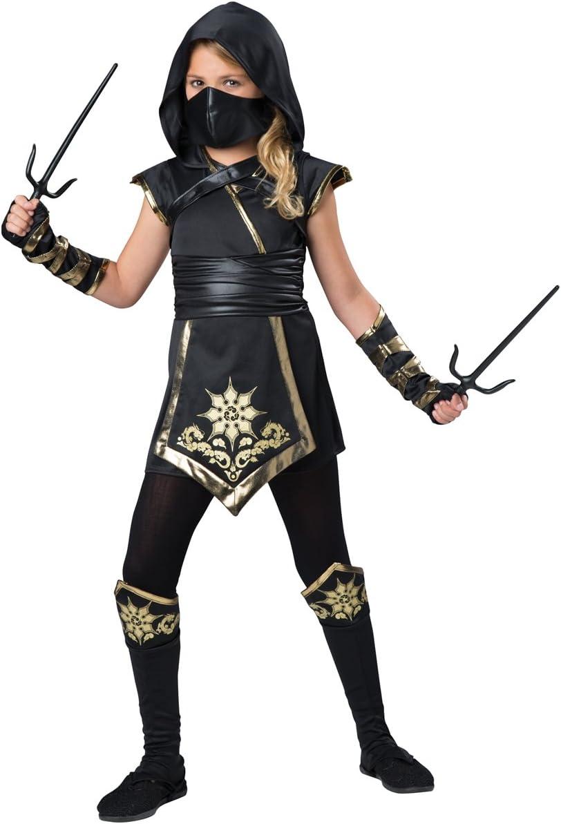 Fun World InCharacter Costumes Ninjas Mystique Costume, One Color, Size 10