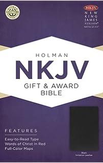 Nkjv holy bible personal size giant print reference thomas nelson nkjv gift award bible black imitation leather negle Image collections