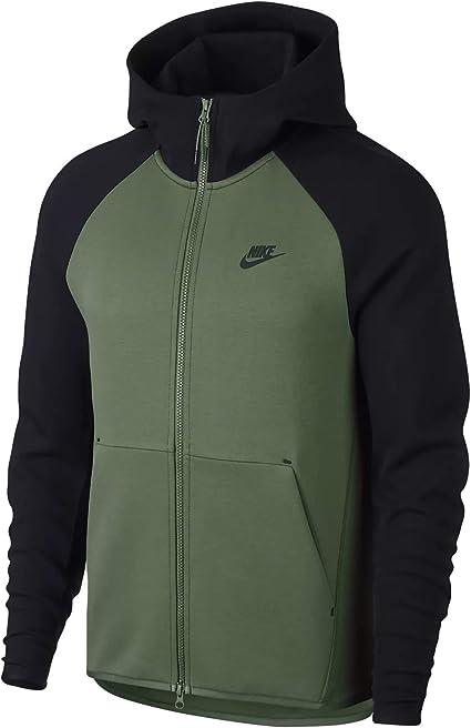 Nike Fleece Athletic Department Full Zip Hoodie Grey